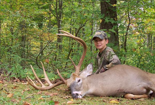 Tristin Scudder'S 180-Inch Indiana Buck throughout Indiana Deer Rut