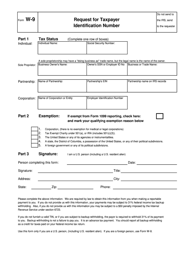 W 9 Form Kansas - Fill Online, Printable, Fillable, Blank for W9 Free Form