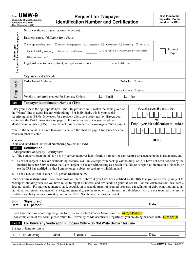W9 2019 Printable - Fill Out And Sign Printable Pdf for Print Form W-9