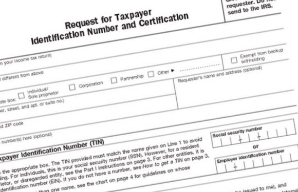 W9 Forms 2021 Printable For Tin Request with Blank W-9 2021