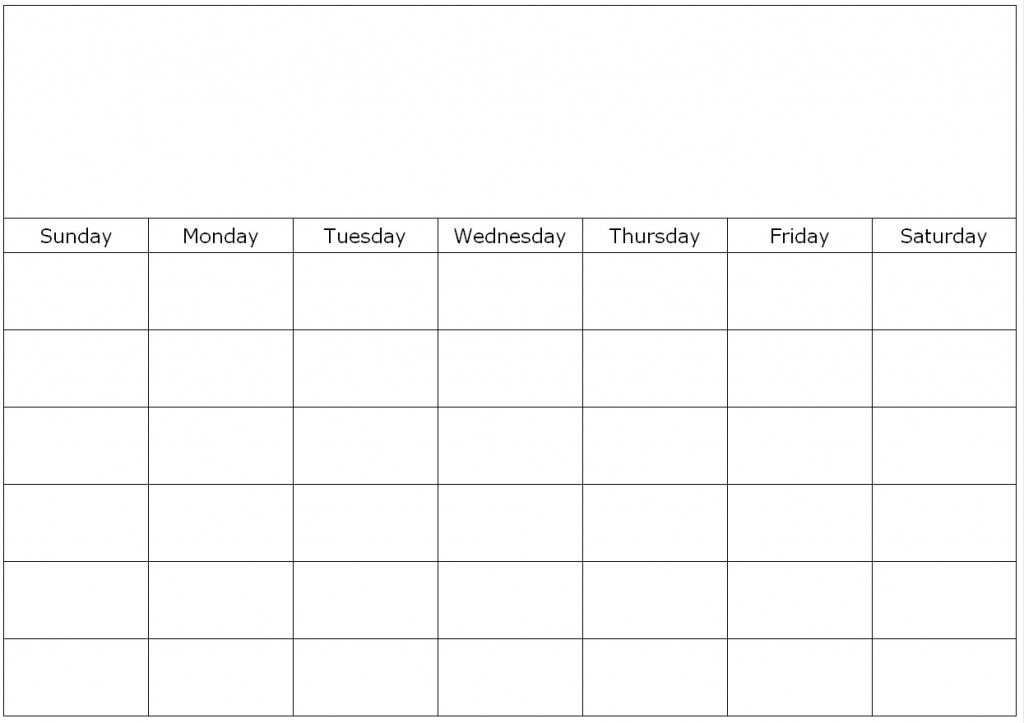 Weekly Calendar Fill In throughout Calendar To Fill Online