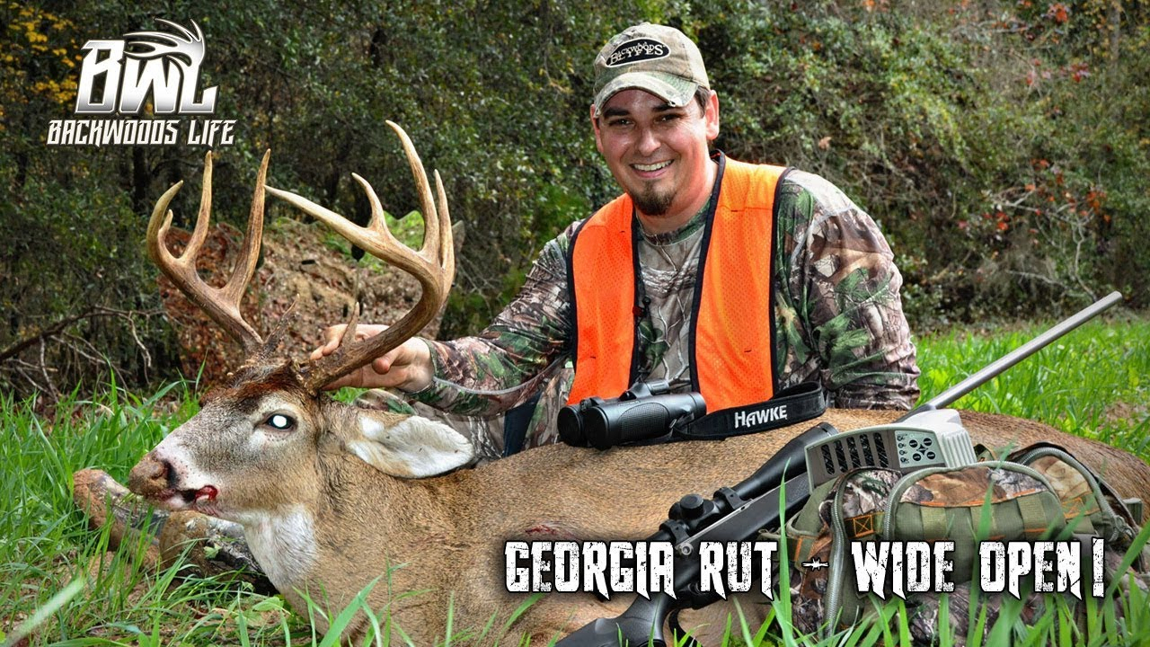 Wide Open Rut Hunt In Georgia! - Youtube intended for Georgia Deer Rut Map