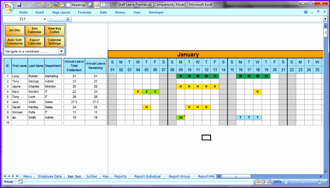 10 Excel Holiday Planner Template - Excel Templates throughout Formate Excell To Calendar