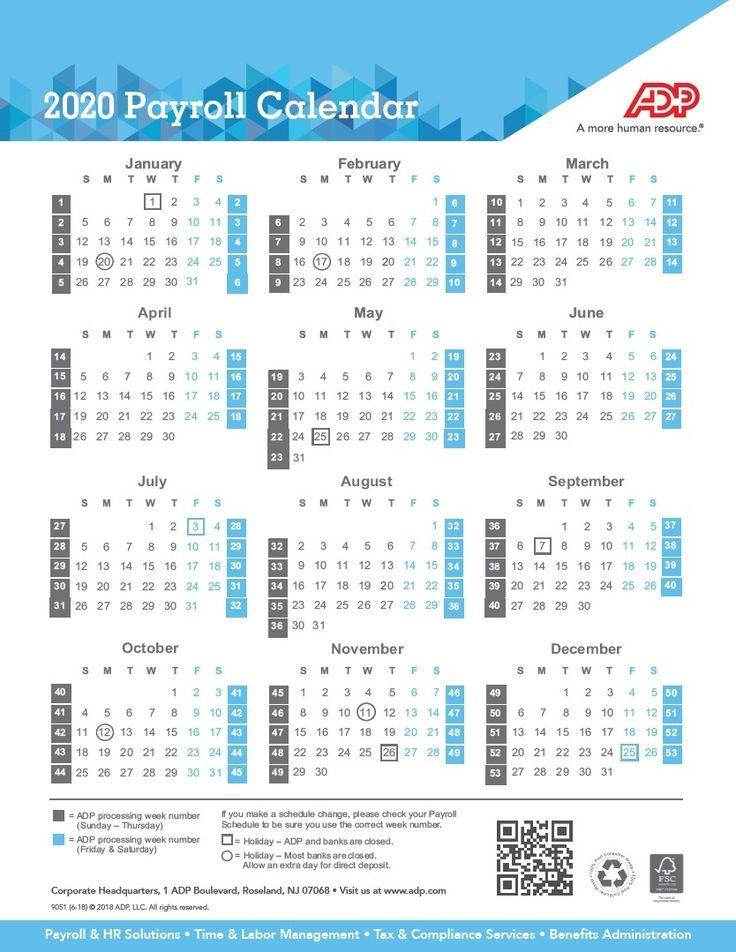 2020 Biweekly Pay Calendar Template | Example Calendar pertaining to Gs Pay Calendar 2022