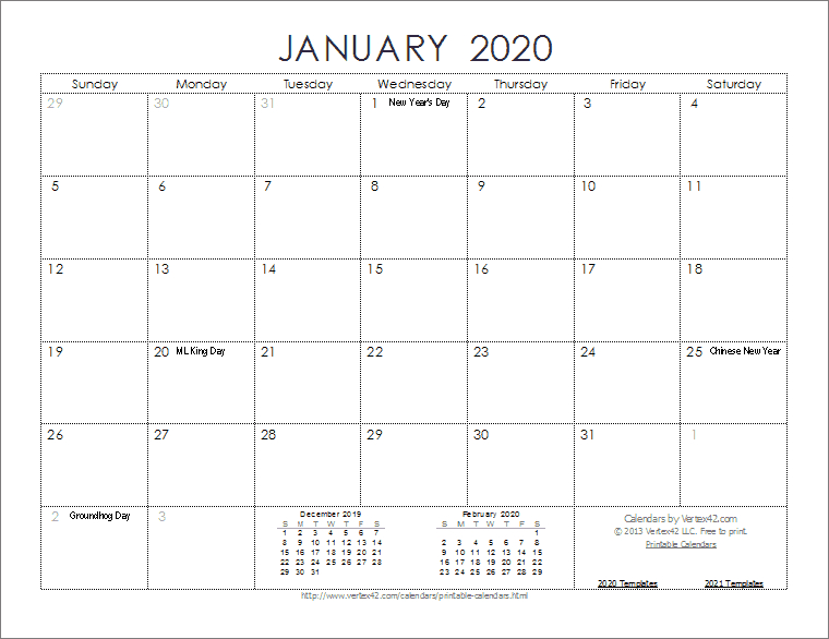 2020 Calendar Templates And Images with regard to Connect Excel To Calendar