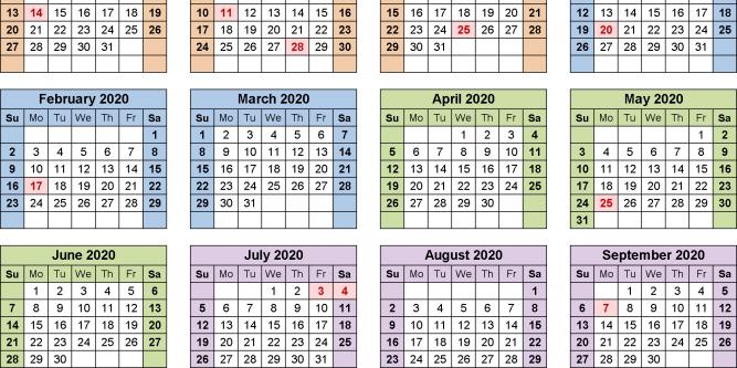 2020 Pay Period Calendar Federal   Free Printable Calendar pertaining to 2022 Federal Calendar Opm