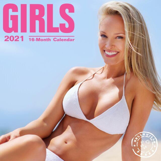 2021 Girls Wall Calendar (2020, Trade Paperback) For Sale throughout Female Models Calendar 2022