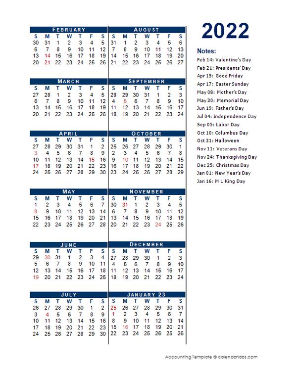 2022 Fiscal Period Calendar 4-4-5 - Free Printable Templates with regard to Walmart Fiscal Calendar For 2022