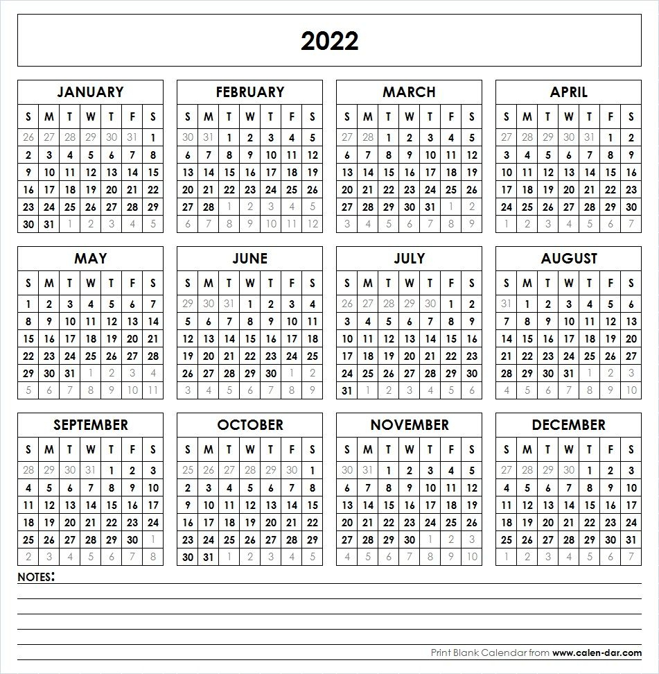 2022 Printable Calendar   Yearly Calendar Template for Retail Calendar 2022 4-5-4 Explained