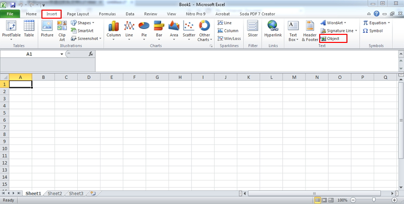 3 Ways To Insert Pdf Into Excel inside Can I Convert An Excel Doc To A Calendat