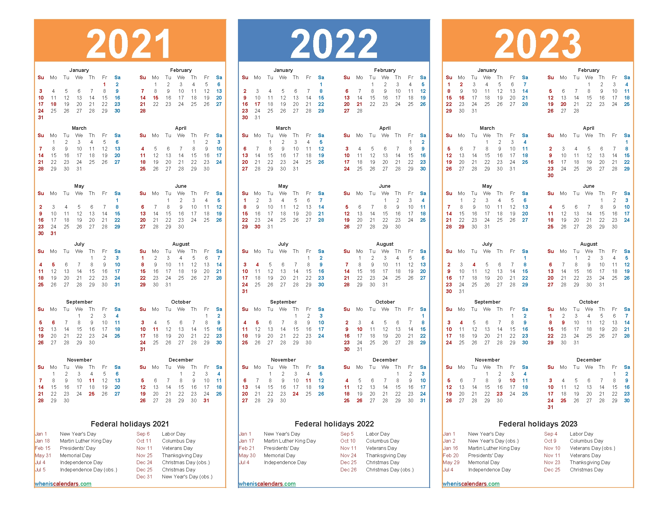 3 Year Calendars 2021 2022 2023 Free Printable   Calendar for 2022 2023 School Calendar North Penn