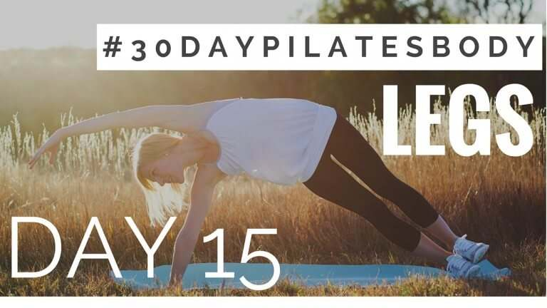 30-Day Pilates Body Challenge: Day #15 (Inner Thighs for 30 Day Inner Thigh Challenge