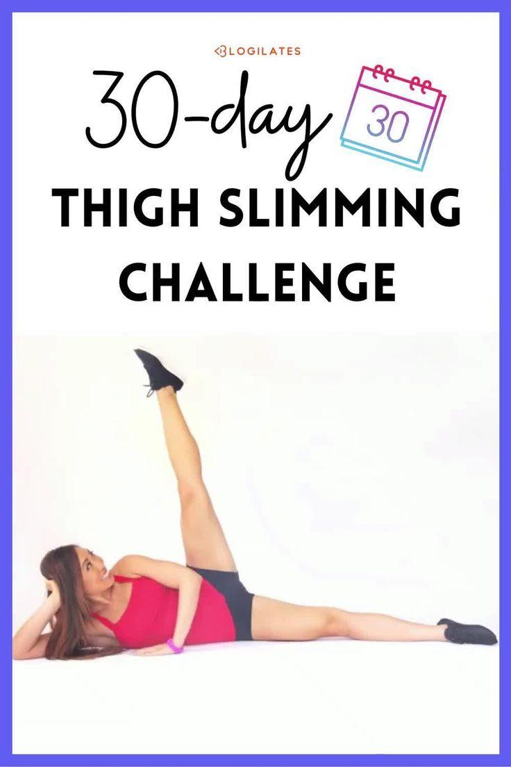 30 Day Thigh Slimming Challenge! - Blogilates [Video regarding 30 Day Inner Thigh Challenge