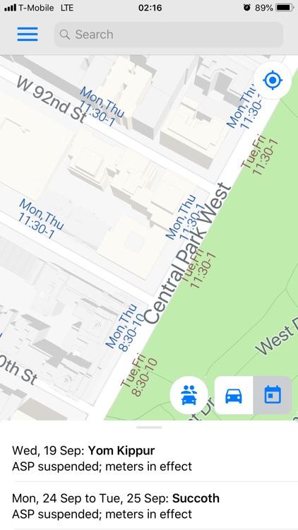 30 Nyc Parking Meter Map - Online Map Around The World inside Altermate Side Parking Regulation Suspension Calender For 2022