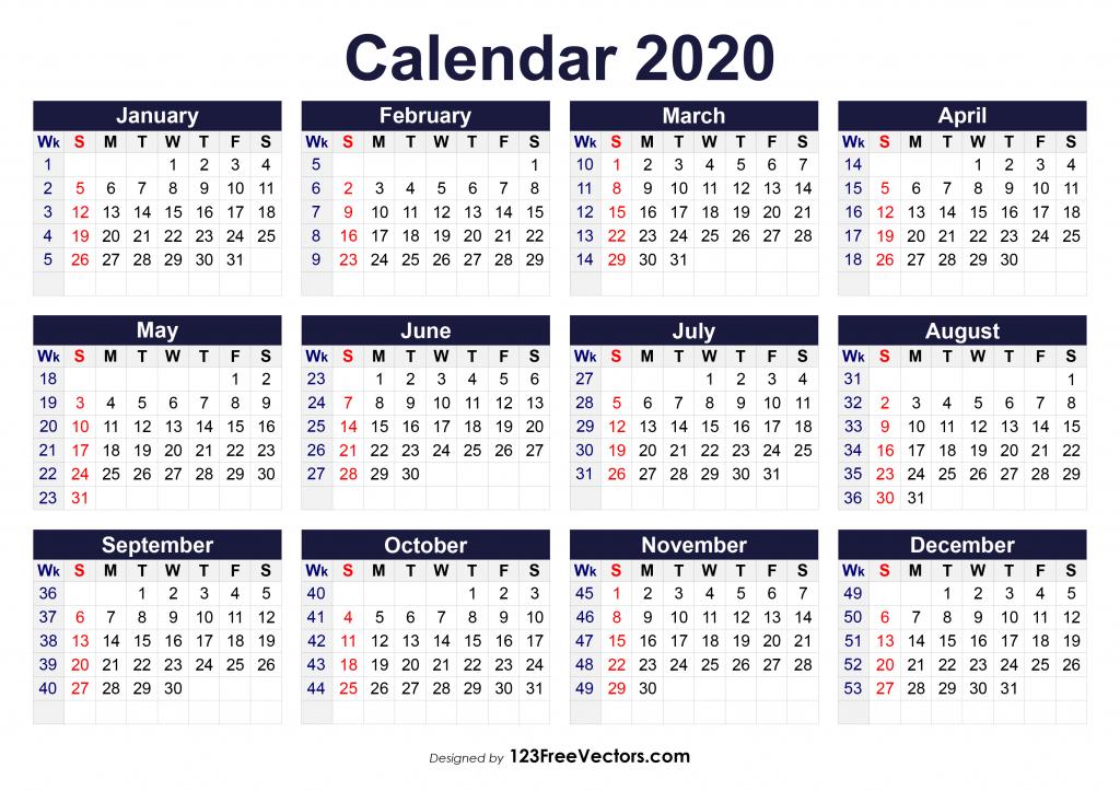 6 Week Blank Calendar 2020 - Calendar Template 2021 in Nc Court Query Calendar