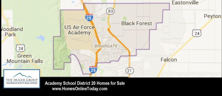 Academy School District 20 Colorado Springs Map And Homes with regard to District 20 Colorado Springs