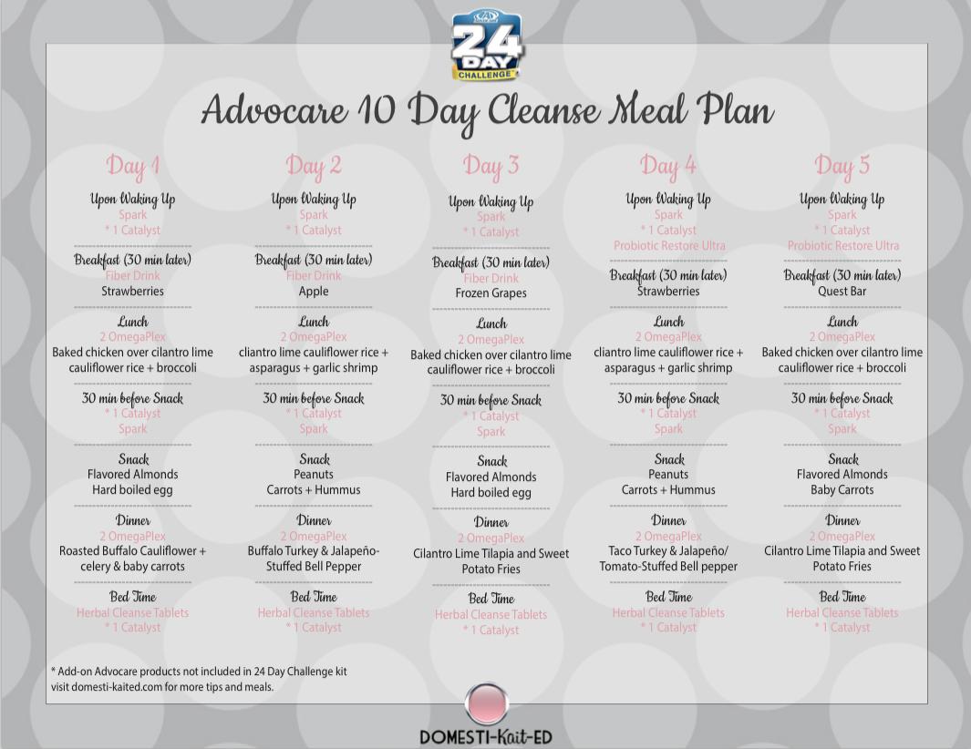 Advocare 24 Day Challenge Calendar | Printable Calendar with regard to Track 4 Calendar Wake County
