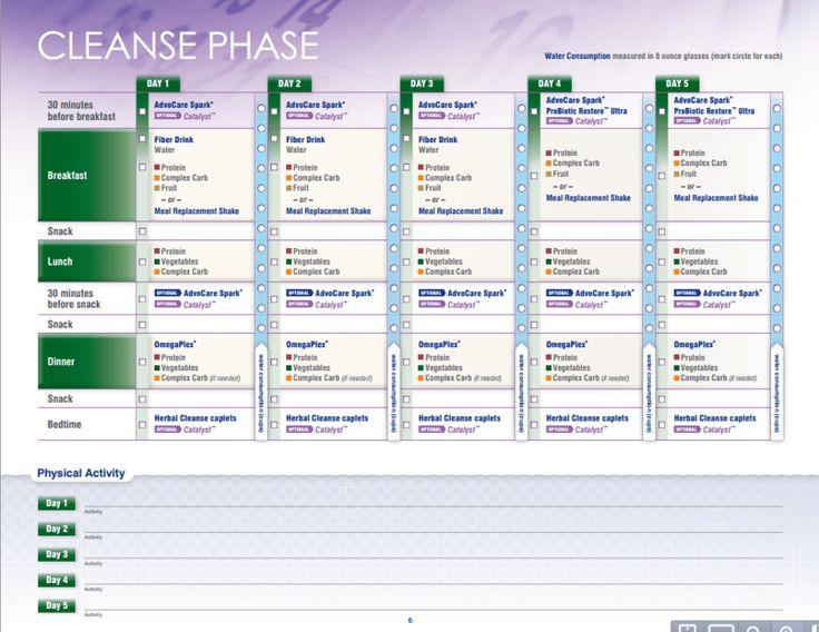 Advocare 24 Day Challenge Guide - Miosuperhealth | 24 Day inside Advocare 24 Day Challenge Booklet