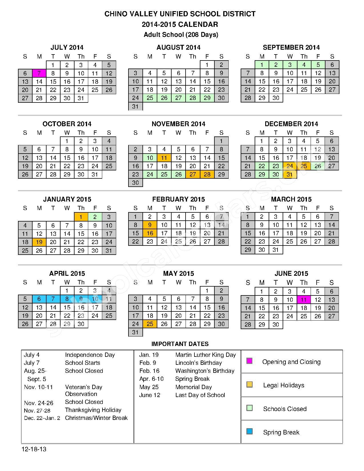 Aiken High School Sc Calendar For 2015 | Printable pertaining to Aiken County School Calendar