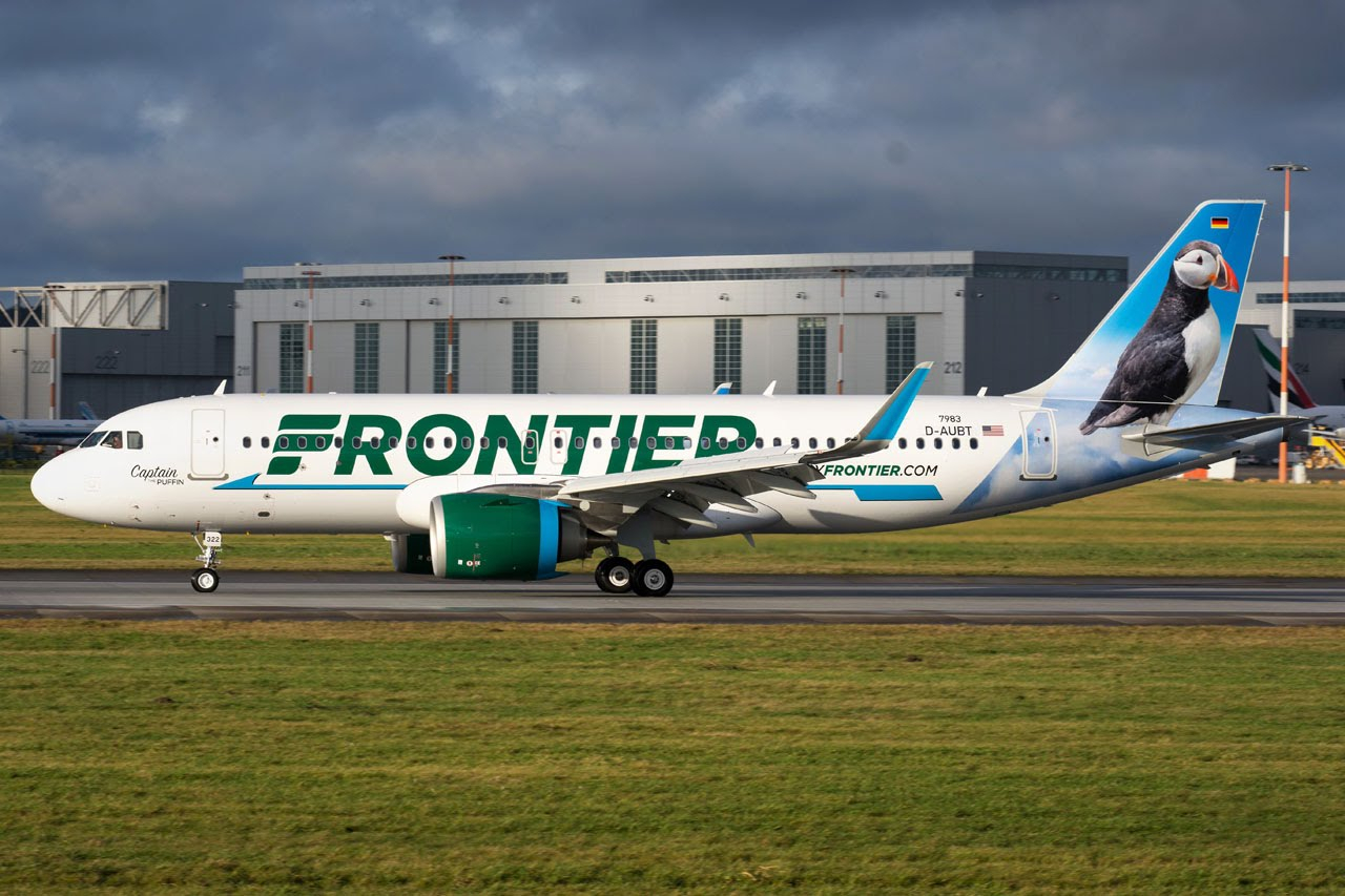 Airbus Hamburg Finkenwerder News: A320-251N, Frontier intended for Frontier Airlines Calendar For December