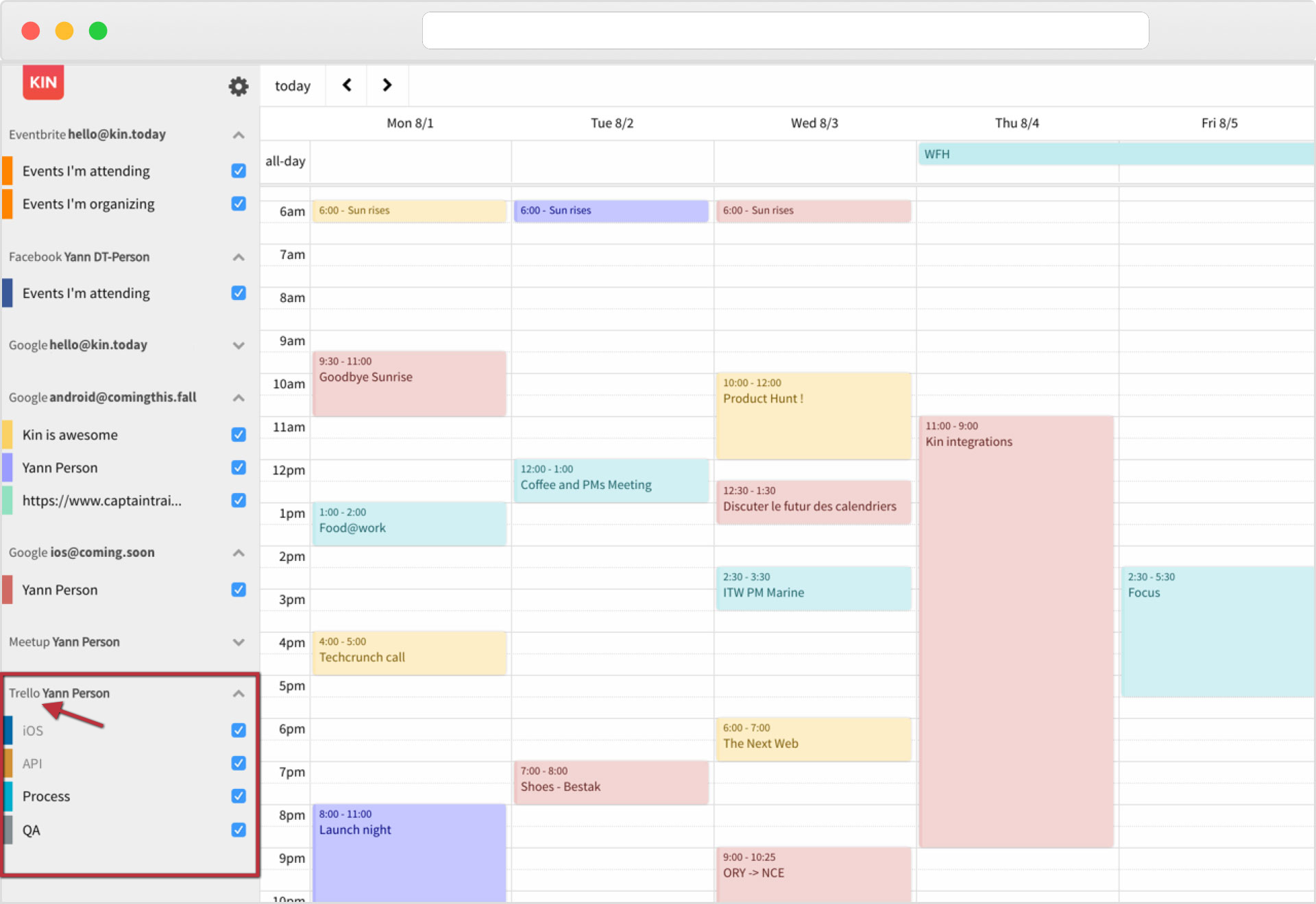 All Trello Cards, From Every Board, In A Single Calendar pertaining to Sunrise Sunset Times Add To Google Calendar