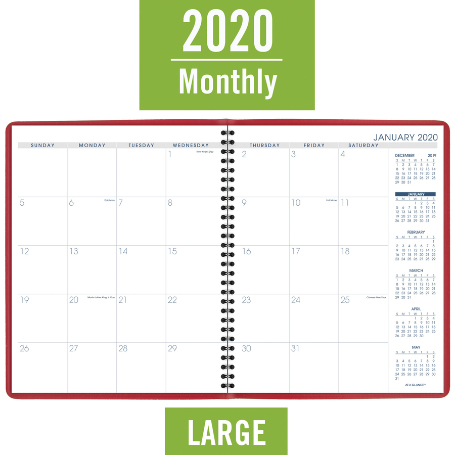 At-A-Glance Fashion Color Monthly Planner - Julian Dates within Julian Date For 2022