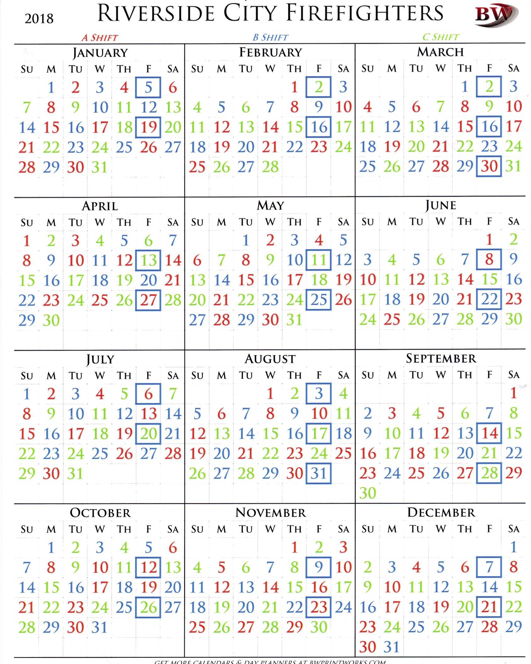 B Shift Calendar 2019 :-Free Calendar Template intended for Jfrd 2022 Shift Calendar