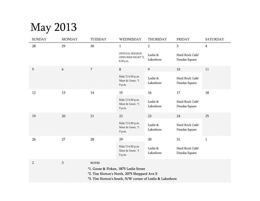 Calendar Revised May 2013   Deandrea Demont   Flickr in 454 Retail Calendar 2022