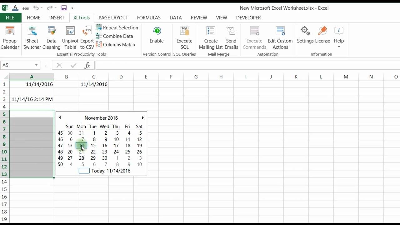 Calendar Week Formula Excel | Month Calendar Printable within Excel Convert To Calendar