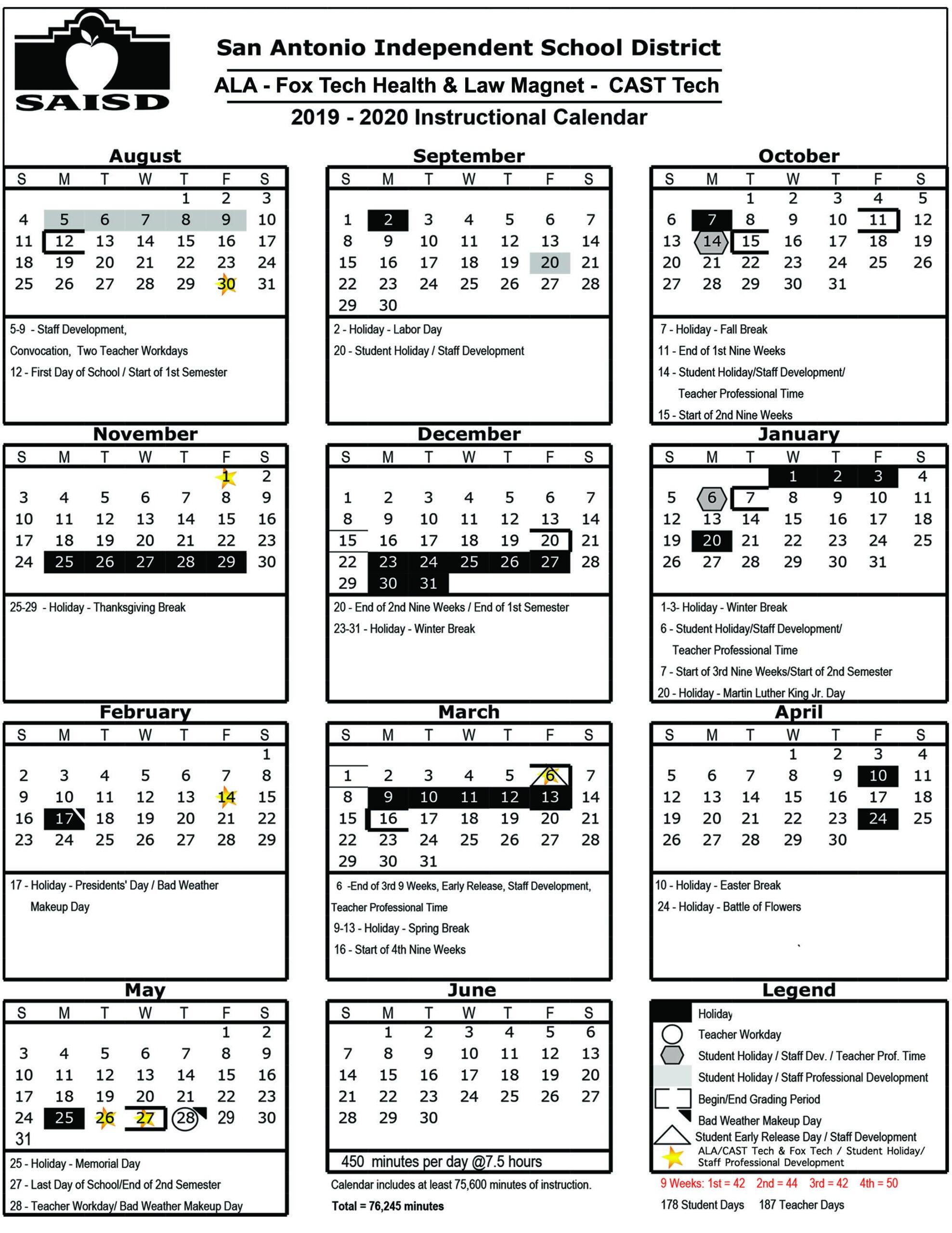 Cast Tech High School - Overview with regard to Texas Tech Academic Calendar