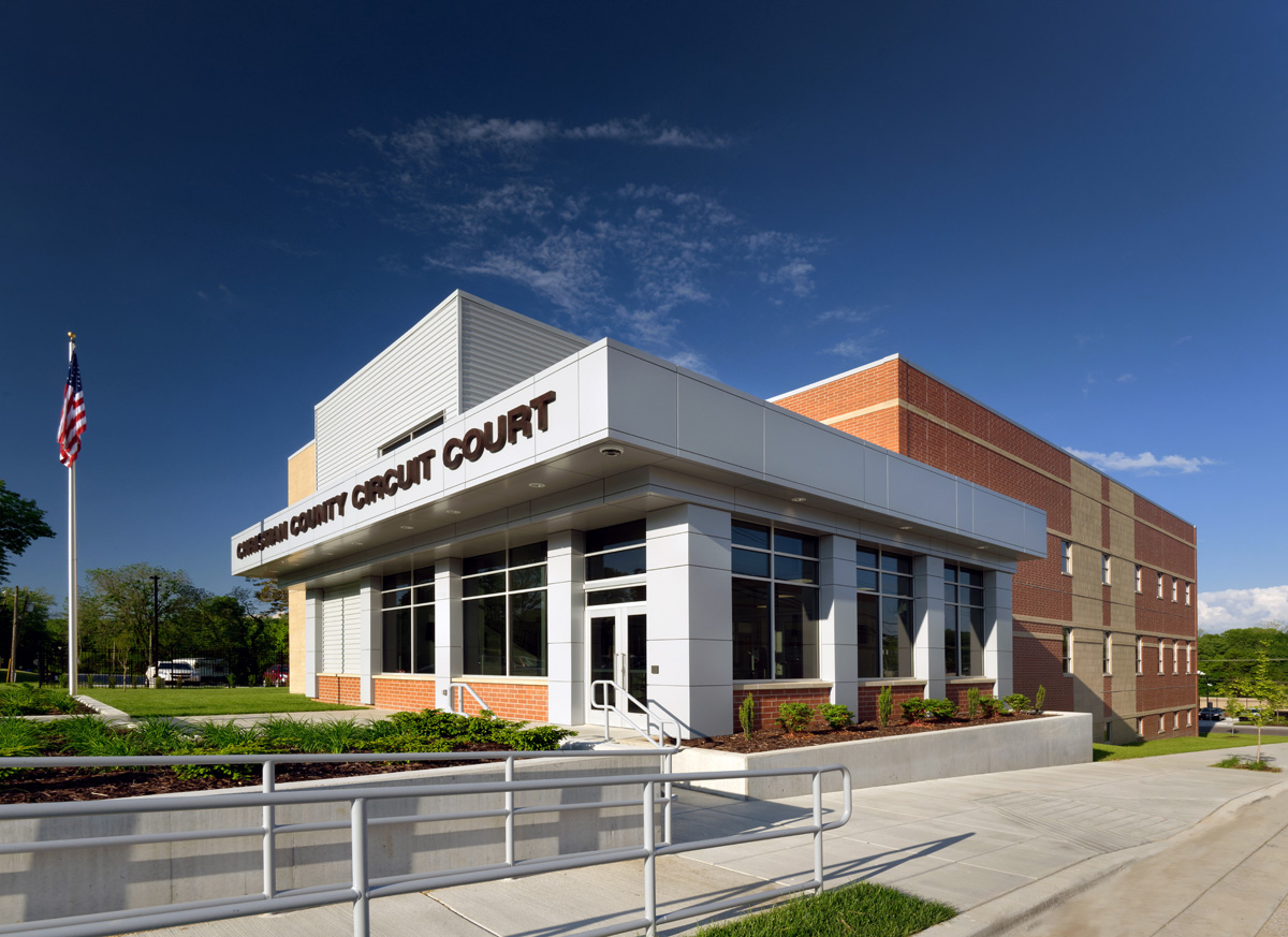 Christian County Circuit Court Building - Paragon for Lane County Circut Coirt Days