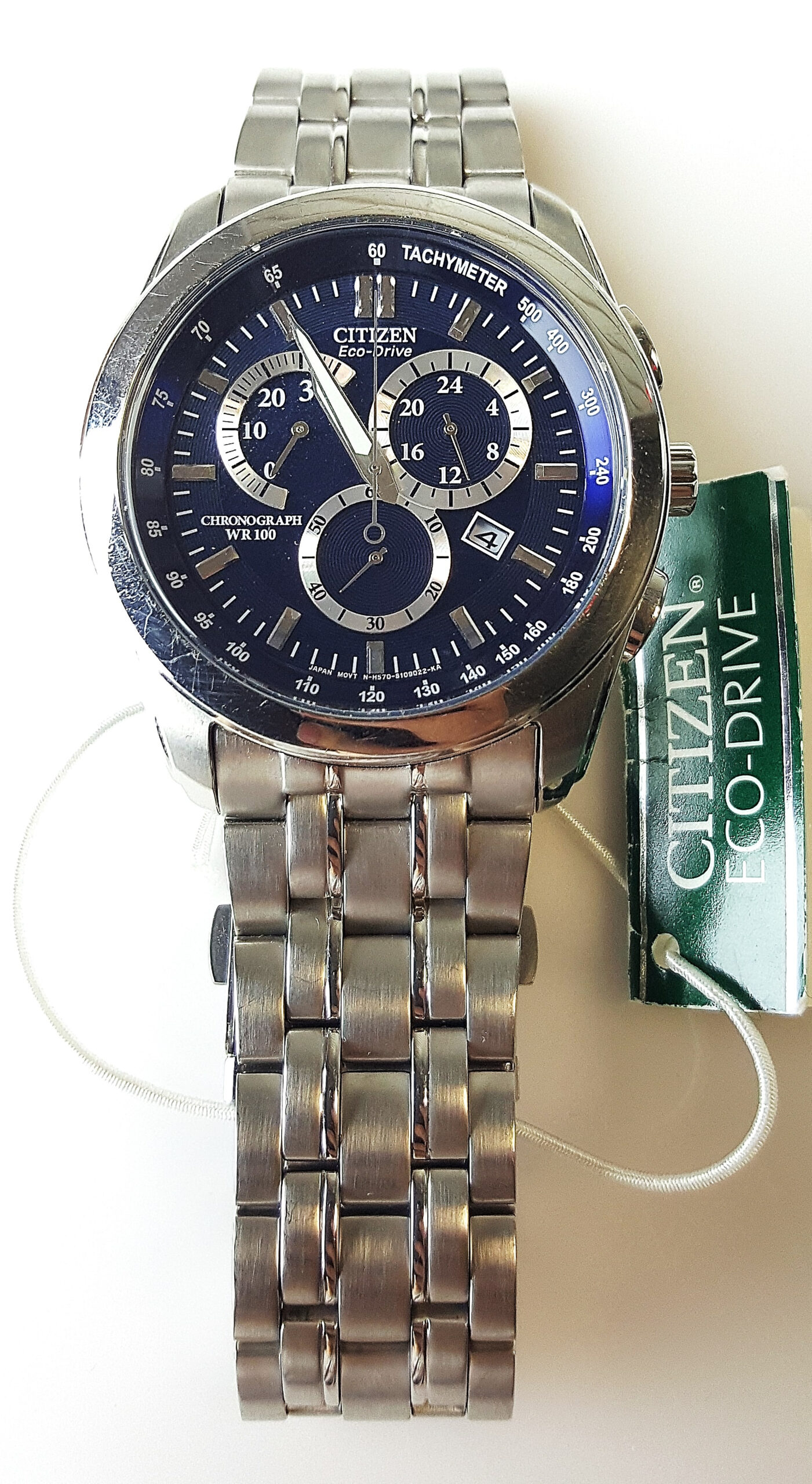 Citizen Eco Drive Gn 4W S 12G with regard to Citizen Eco Drive Chronograph Wr100 Manual