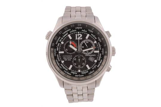 Citizen, Eco-Drive Wr100, Ref. H500 - S055148 Hst, A in Citizen Eco Drive Chronograph Wr100 Manual