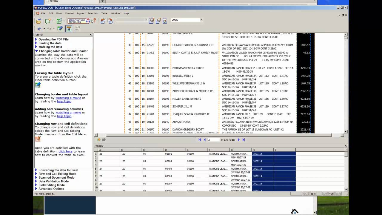 Convert Pdf To Xls Excel Spreadsheet - Youtube for Progra To Convert Schedule To Excel