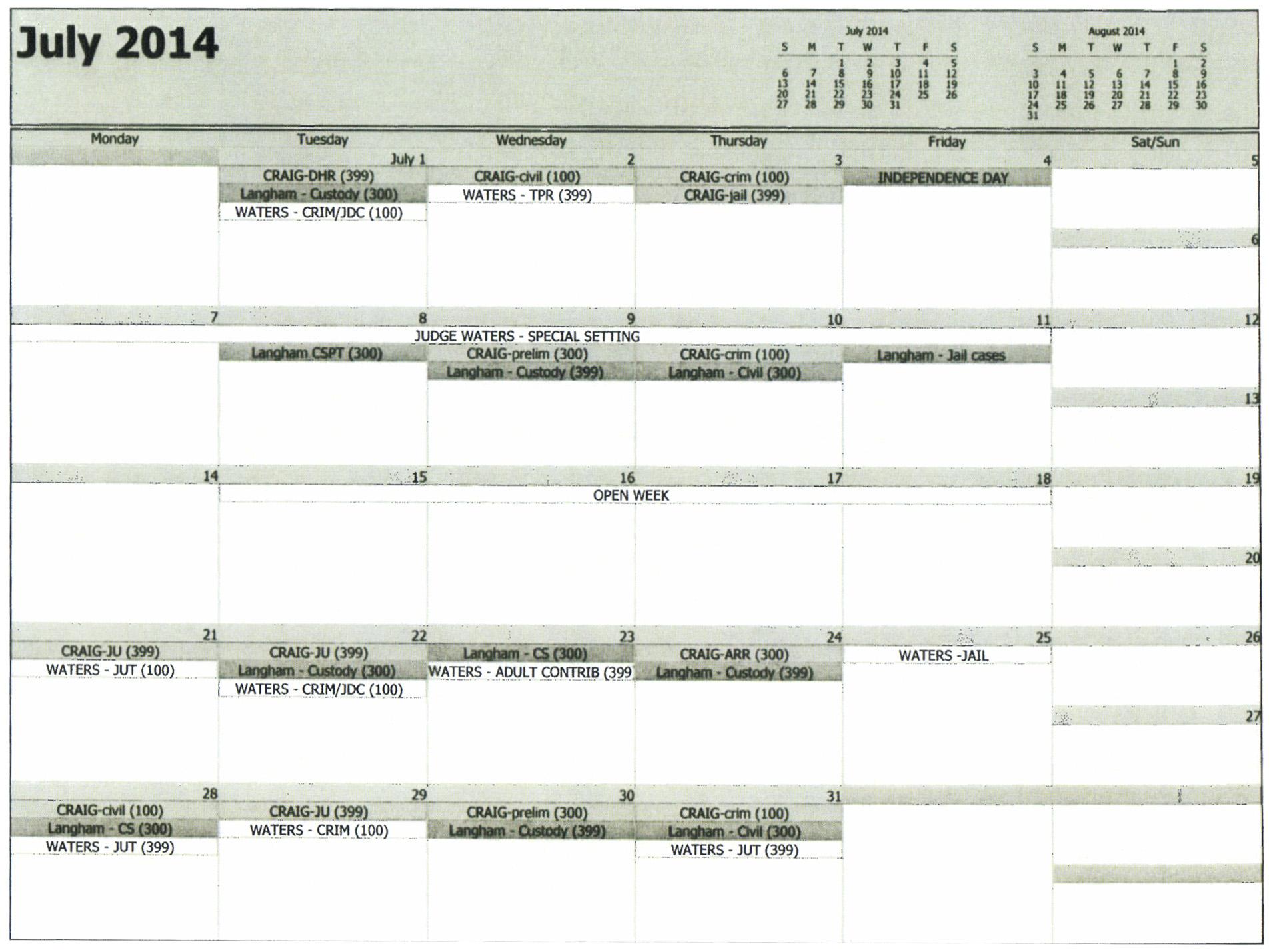 Court Calendar | Morgan County District Attorney with Nc District And Superior Court Calendars