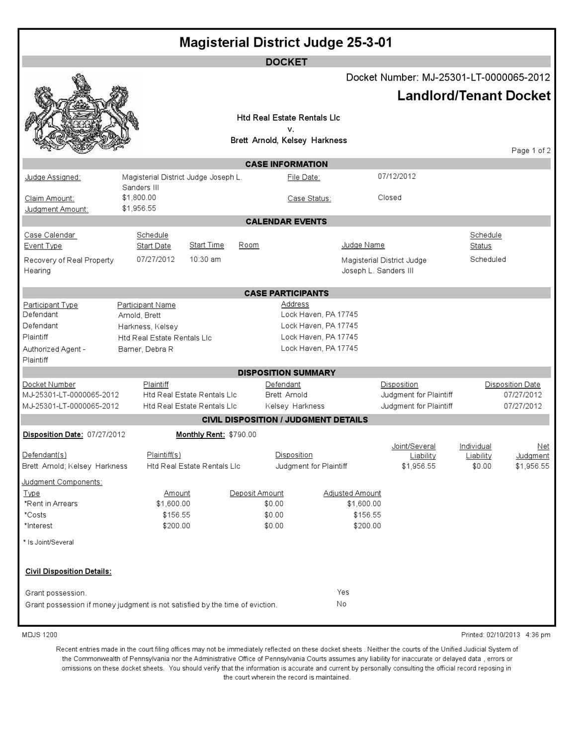 Court Dockettracy Henderson - Issuu pertaining to Nc Court Calendar Defendant Name