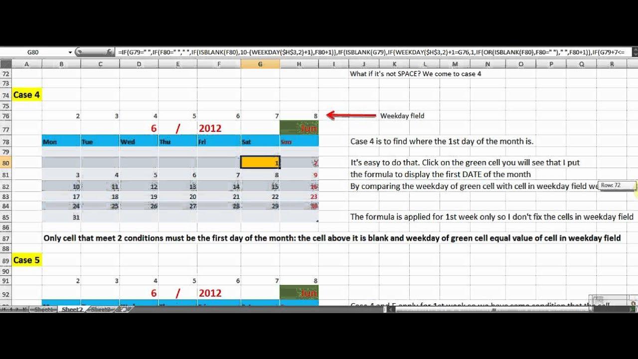 Create Calendar From Excel Spreadsheet Data - Db-Excel regarding Can I Convert An Excel Doc To A Calendat