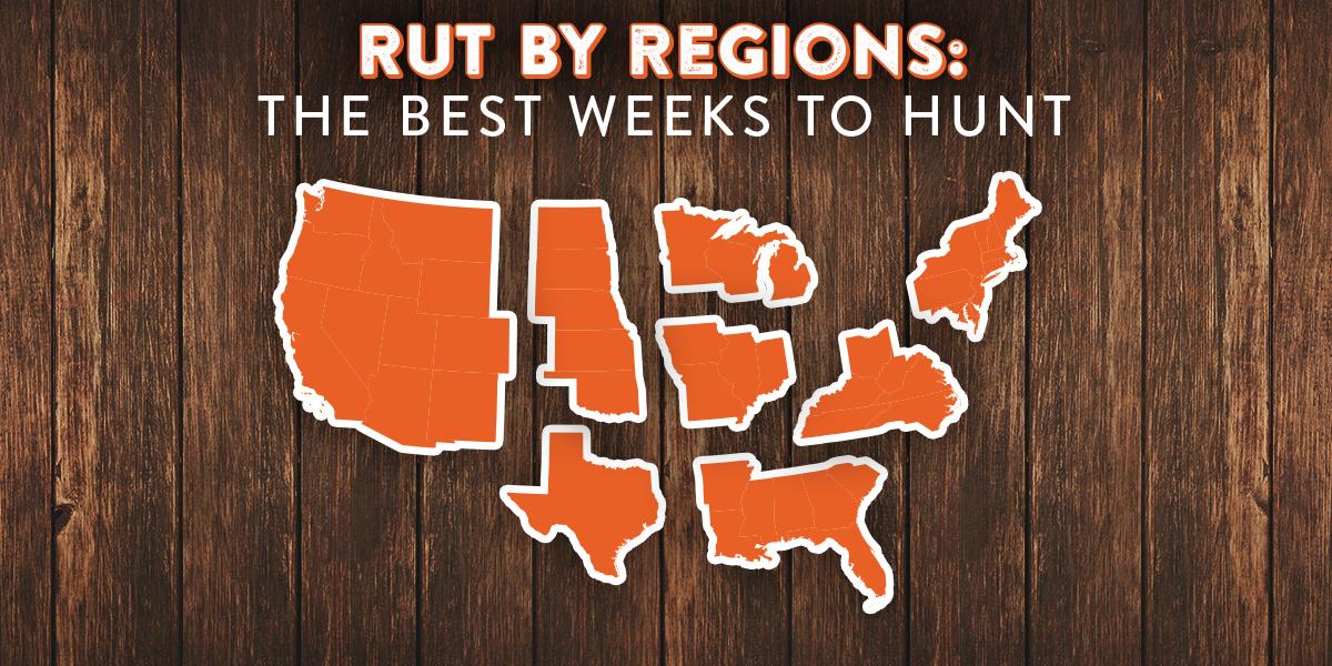 Data Driven Regional Rut Predictions For 2017 - Legendary for Deer Lunar Activity Calendar 2022