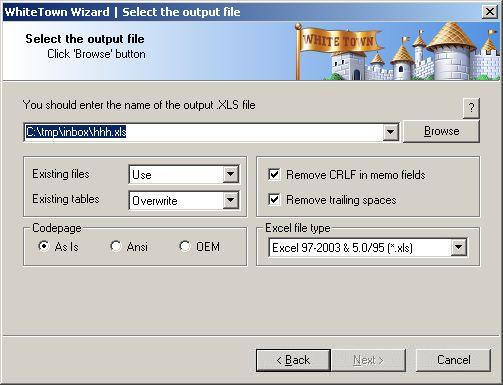 Dbf To Xls Excel Converter - Database Conversion Software Pc inside Progra To Convert Schedule To Excel