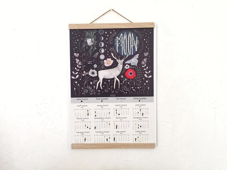 Deer Calendar Moon Phase for 20222 Lunar Hunting Calendar