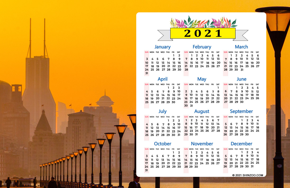 Empty Boat In The Water: 2021 Calendar 11X17 Printable pertaining to 2022 Sunrise And Sunset Calendar
