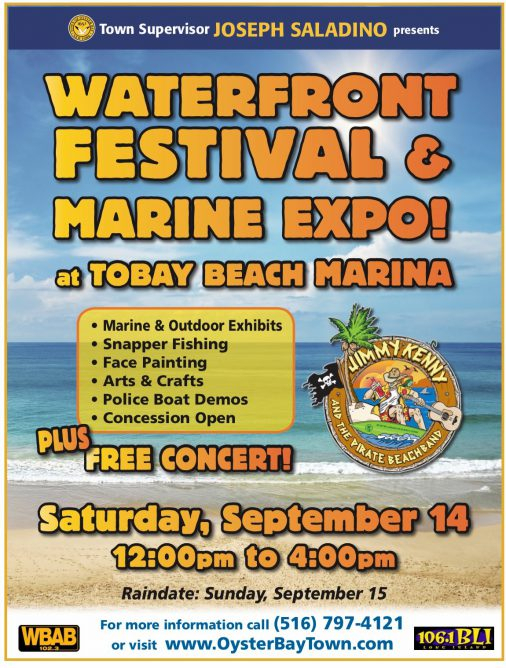 Event: Oyster Bay Waterfront Festival And Marine Expo throughout Town Of Oyster Bay Calender