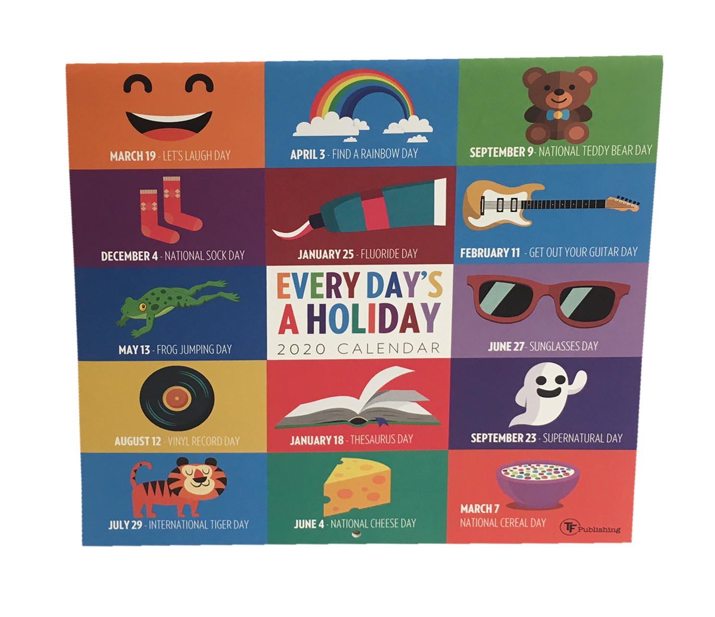 Every Day'S A Holiday Calendar | Kleertech intended for Every Day Holiday Calendar