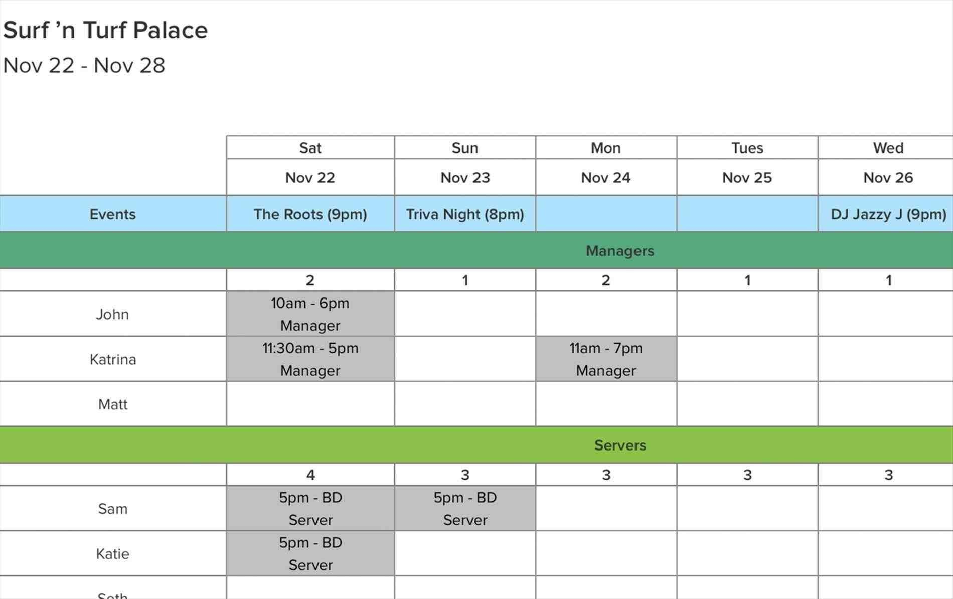Excel Spreadsheet Scheduling Employees | Glendale Community with Turn Excel Spreadsheet Into Calendar