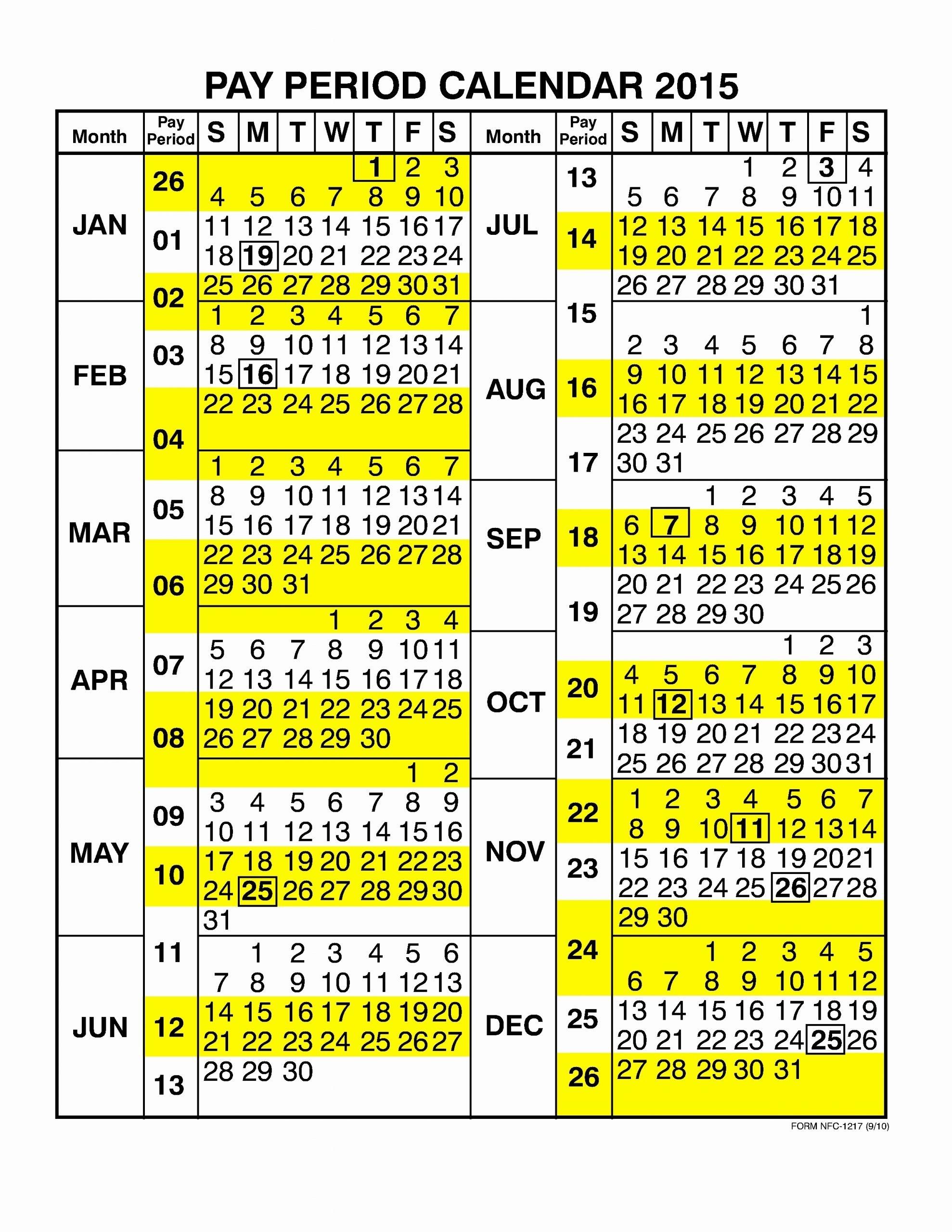 Federal Government Pay Period Calendar 2020 - Calendar intended for Gs Pay Calendar 2022