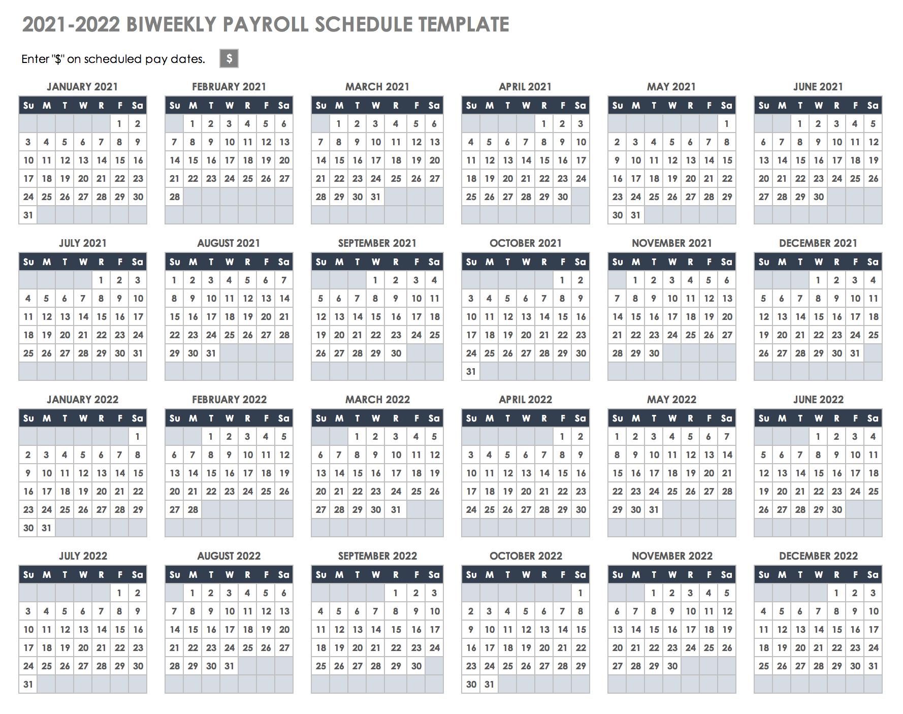 Federal Pay Period Calendar 2021 / Opm Payroll Calendar inside Gs Pay Calendar 2022