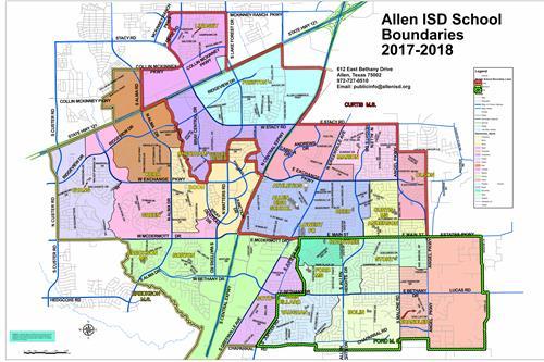 Find A School / Boundary Maps for East Allen Community Schools Calendar