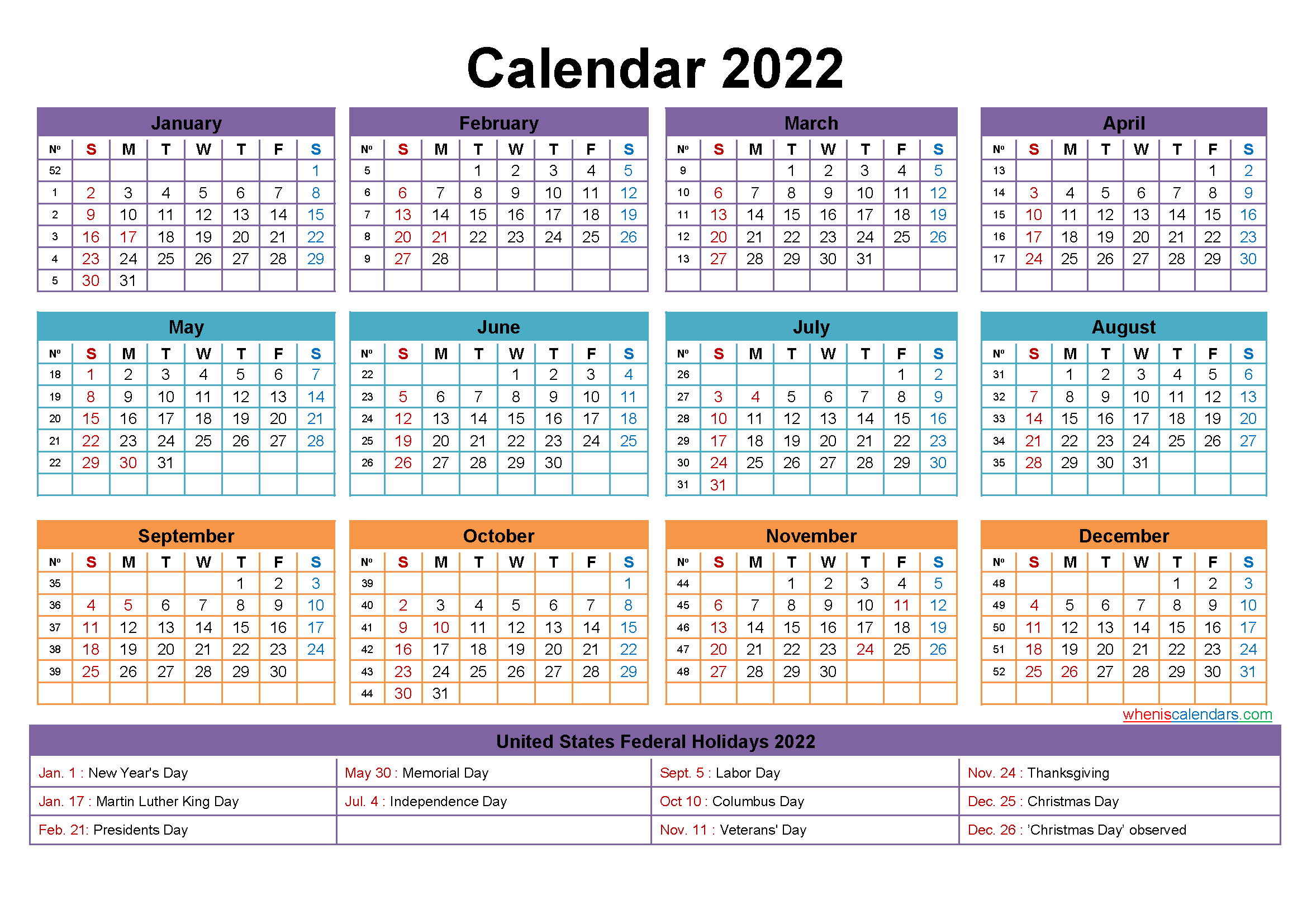 Free Editable Printable Calendar 2022 - Template No.ep22Y23 throughout 2022 Day To Day Calendars For Men