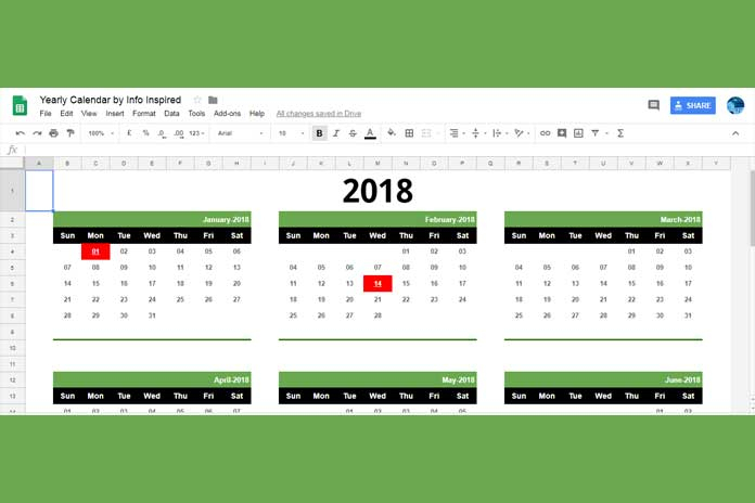 Free Google Sheets Calendar Template Download And How To pertaining to Can I Convert An Excel Doc To A Calendat