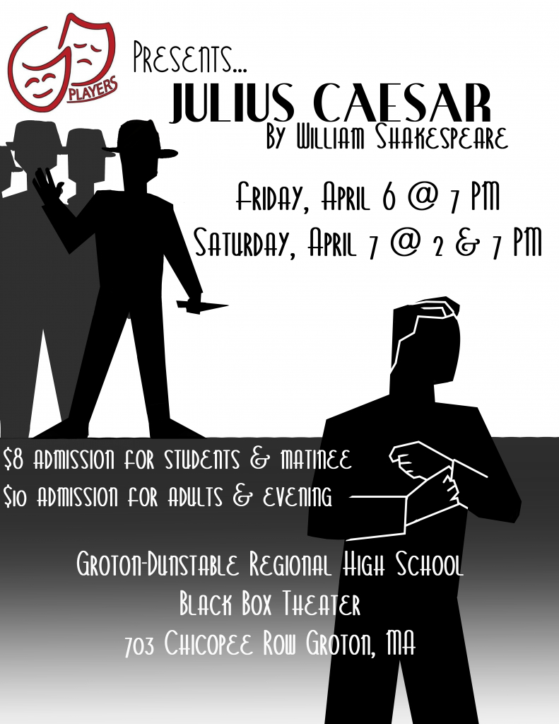 "Gd Players Present Shakespeare'S ""Julius Caesar"" - Groton with regard to Ceasar Rodney School District Calendar 2022 2023"